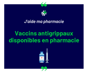 Vaccin grippe disponible